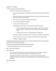 MUS 1301 Study Guide - Final Guide: Sonata Form, 100 Questions, Oboe