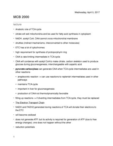 mcb-2000-lecture-24-tca-regulation