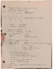 PSC 1121 Lecture Notes - Lecture 22: Elementary Charge, Radar Gun