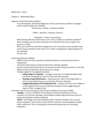 HROB 3100 Chapter Notes - Chapter 6: Theory X And Theory Y, Absenteeism, Organizational Culture