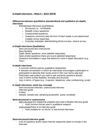 Interview guide for qualitative research