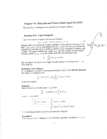 math-2551-chapter-16-integrals-and-vector-fields