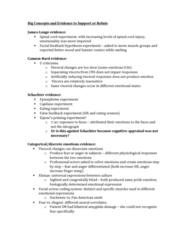 PSYC 361 Study Guide - Midterm Guide: Impulsivity, Amygdala, Facial Feedback Hypothesis