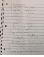 MATH 204 Final: MATH 204 Final Notes