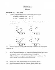 AMS 5 Chapter Notes - Chapter 8: Scatter Plot, Senioritis