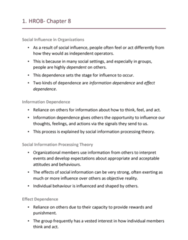 HROB 2090 Lecture Notes - Lecture 8: Organizational Identification, Onboarding, Norm (Social)