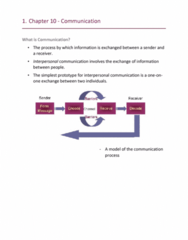 HROB 2090 Lecture Notes - Lecture 10: Psychological Safety, Organizational Communication, Interpersonal Communication