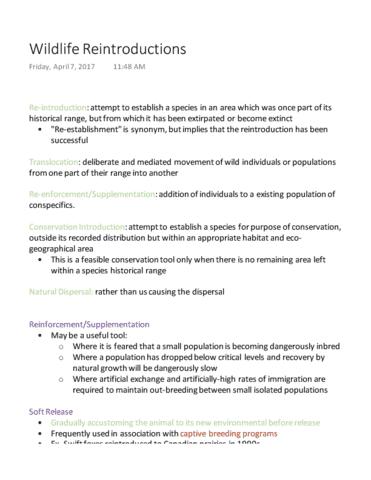 Ensc 320 Lecture Notes Winter 2017 Lecture 16 Inbreeding