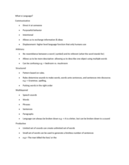 LING 1P92 Study Guide - Midterm Guide: Functional Magnetic Resonance Imaging, Prototype Theory, Problem Solving