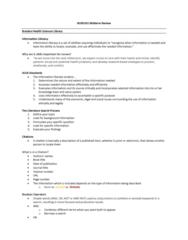 NURS 101 Study Guide - Midterm Guide: World Health Organization, Ultraviolet, Seat Belt
