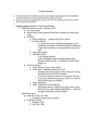 HIST1055 Lecture Notes - Lecture 12: British Sugar, Indentured Servant, Headright