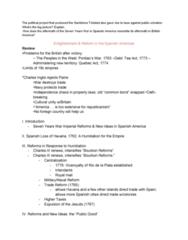 HIST1055 Lecture Notes - Lecture 21: Public Good, Royal Mail, Bourbon Reforms