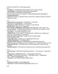 CGS-2060 Study Guide - Final Guide: Sensitivity Analysis, Assignment Problem, Xml