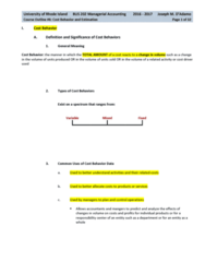 BUS 202 Lecture Notes - Lecture 6: Standard Deviation, The Item, Schoolhouse Rock!