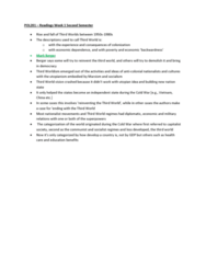 POL201Y1 Chapter Notes - Chapter 1: Third-Worldism