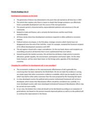 POL201Y1 Chapter Notes - Chapter 1: Econometrics, Official Development Assistance