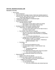 GOV 312L Lecture Notes - Lecture 26: Rational Basis Review, Strict Scrutiny, Intermediate Scrutiny