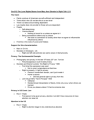 GOV 312L Lecture Notes - Lecture 30: Parenting, Mount Meager