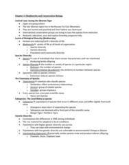 EES 1080 Lecture Notes - Lecture 2: Living Planet Index, Habitat Destruction, Habitat Conservation