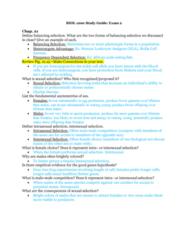 BIOL 1200 Midterm: Exam 2 Study Guide Part 1