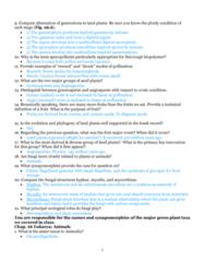 BIOL 1200 Midterm: Exam 3 Study Guide Part 3