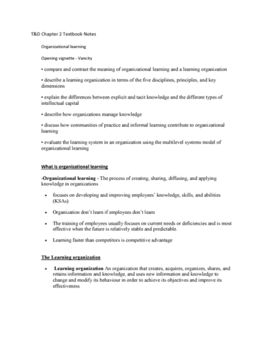 management-and-organizational-studies-3343a-b-chapter-2-3343-t-d-chapter-2-textbook-notes