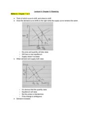 ECON 20A Lecture 6: Elasticity