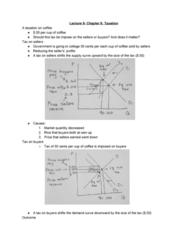 ECON 20A Lecture 9: Taxation