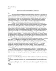 POLS 100S Study Guide - Final Guide: Ali Khamenei, Samuel P. Huntington, Francis Fukuyama