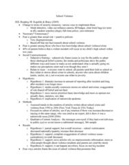 CRJU 20423 Lecture Notes - Lecture 11: School Violence, Subliminal Stimuli, Social Constructionism