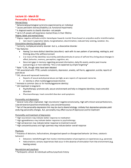 PSYC 2740 Lecture Notes - Lecture 18: Dissociative Identity Disorder, Dissociative Disorder, Comorbidity