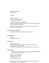 ANTH 1210 Lecture Notes - Lecture 3: Ethnocentrism, Cultural Relativism