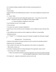 GMGT 2070 Lecture Notes - Lecture 2: Social Loafing, Workplace Bullying