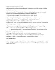 GMGT 2070 Lecture Notes - Lecture 64: Expectancy Theory