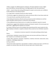 GMGT 2070 Lecture Notes - Lecture 67: Cognitive Evaluation Theory, Reward System, Equity Theory