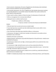 GMGT 2070 Lecture 93: Organizational Behaviour Topic 93