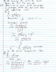 MAC 2312 Lecture 76: Study Guide 76 (BC Calculus (Review of