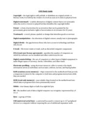 COIS 1010H Study Guide - Final Guide: Usb, Near Field Communication, Usb Flash Drive