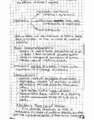 MECH 1321 Chapter 1: Statics Ch 1