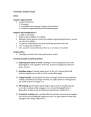 COMM 210 Lecture Notes - Lecture 6: Job Satisfaction, Sensitivity Training, Job Performance