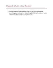 COMM 210 Chapter Notes - Chapter All: John Molson School Of Business, Second Cup, Revamp