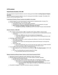 PLSC 389E Lecture Notes - Lecture 14: Kim Jong-Il, Kim Jong-Un, Kim Il-Sung