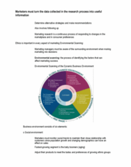 GMGT 1010 Lecture Notes - Lecture 91: Market Environment, Marketing Mix, Social Environment