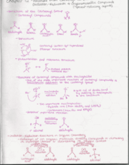 CHEM 2380 Lecture 2: Organic Chemistry 2 Notes Chapter 12