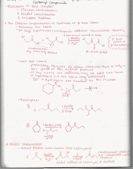 CHEM 2380 Lecture 9: Organic Chemistry 2 Notes Chapter 19