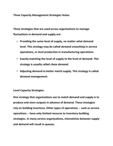 itec-4030-lecture-4-three-capacity-management-strategies-notes