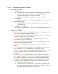 MGAC50H3 Chapter Notes - Chapter 1: Double Taxation, Ratio Decidendi, Logical Consequence