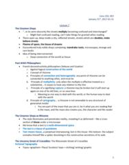 CENS 202 Lecture Notes - Lecture 8: Topos, Shtetl, Pointillism