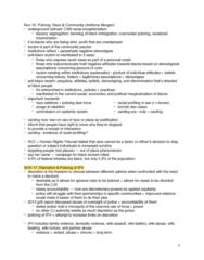 CRIM 2652 Study Guide - Midterm Guide: Provincial Superior, Homicide, Summary Offence