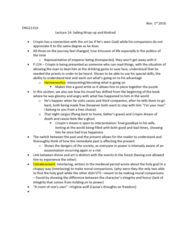 ENG 2131 Lecture Notes - Lecture 14: Drinking Game, Hermeneutics